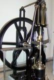 Regulator in the Technical Museum in Munchen (Technische Muzeum Munchen). Vintage regulator in the Technical Museum in Munchen. Old device. Retro Stock Photo