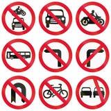 Regulatory Road Signs In Hong Kong Royalty Free Stock Photo