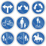 Regulatory Road Signs In Iceland Royalty Free Stock Images