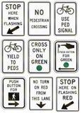 Regulatory United States MUTCD road signs Stock Photos