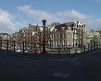 Reguliersgracht Royalty-vrije Stock Foto