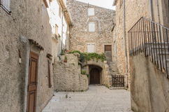 Regusse in Provence, France Stock Photos