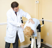 Rehabilitation for Back Injury Stock Photos