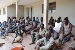 REHABILITATION OF FORMER FIGHTERS IN IVORY COAST (SARD) Royalty Free Stock Photo