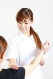 Rehabilitation Nursing Royalty Free Stock Images