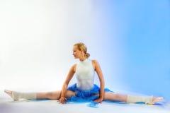 Rehearsal of the ballerina Stock Photos
