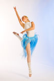 Rehearsal of the ballerina Stock Image