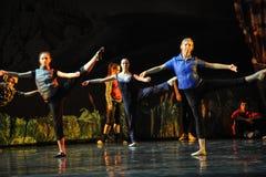 Rehearsal-ballet Royalty Free Stock Photography