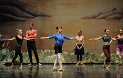 Rehearsal-ballet Stock Photo
