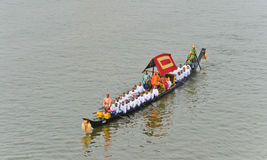 Rehearsal for Royal Barge Procession Stock Photos