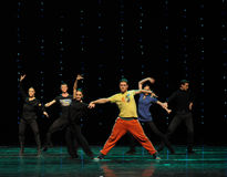 The rehearsal scene-Austria Dance of the world Stock Image