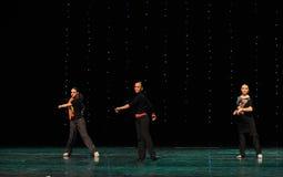 The rehearsal scene-the Austria's world Dance Stock Image