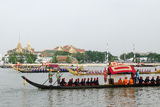 The rehearsals Royal barge Royalty Free Stock Images