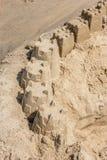 Rehoboth海滩沙子城堡 免版税图库摄影