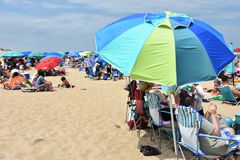Rehoboth Beach in Delaware. USA Stock Photography