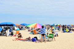Rehoboth Beach in Delaware. USA Stock Photos