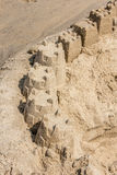 Rehoboth Beach Sand castles Royalty Free Stock Photography