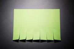 Reißen Sie Papierbegriff auseinander stockfotografie