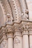 Reißen Sie Portaldekoration in Speyer-Kathedrale, Deutschland hin Lizenzfreies Stockfoto