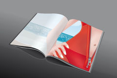 Reißverschlusszeitschrift stock abbildung