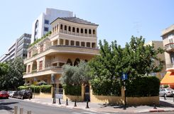 Rei Albert Square, Tel Aviv Fotos de Stock Royalty Free