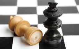 Rei contra o rei Imagens de Stock Royalty Free