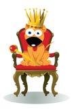 Rei da casa ilustração stock