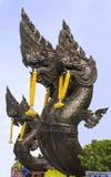 Rei da estátua de Nagas Imagem de Stock