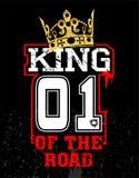 Rei da estrada ilustração royalty free