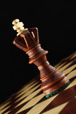 Rei da xadrez. Foto de Stock