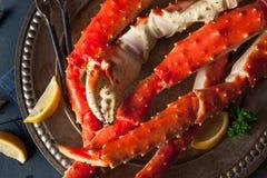 Rei do Alasca orgânico cozinhado Crab Legs fotos de stock