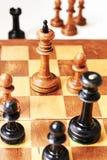 Rei do branco da xadrez Imagens de Stock