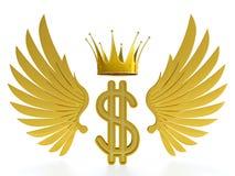 Rei do dólar Fotografia de Stock