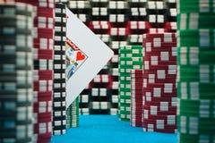 Rei do póquer Imagem de Stock Royalty Free