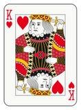 Rei dos corações Fotos de Stock