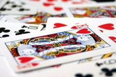 Rei dos corações Imagem de Stock