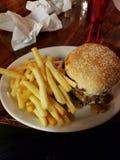 Rei dos hamburgueres foto de stock