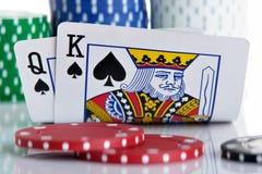 Rei e rainha Fotos de Stock Royalty Free