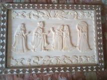 Rei e rainha do osso do camelo Fotos de Stock Royalty Free