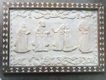 Rei e rainha do osso do camelo Fotografia de Stock