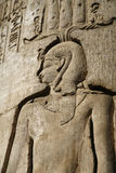 Rei egípcio fotografia de stock