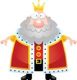 Rei feliz dos desenhos animados Fotos de Stock Royalty Free