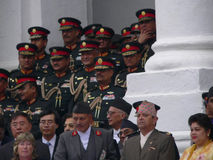Rei Gyanendra Nepal Imagem de Stock Royalty Free
