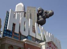 Rei Kong no museu da cera em Branson, Missouri Foto de Stock