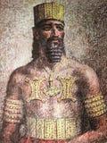 Rei legendário de Arganthonios de Tartessos fotos de stock