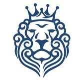 Rei Lion Imagem de Stock