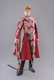 Rei medieval Foto de Stock