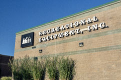 REI - Recreational Equipment Inc Στοκ φωτογραφία με δικαίωμα ελεύθερης χρήσης