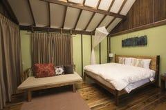 Rei Size Bed Fotografia de Stock Royalty Free