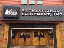 REI Storefront Eugene ODER stockbilder